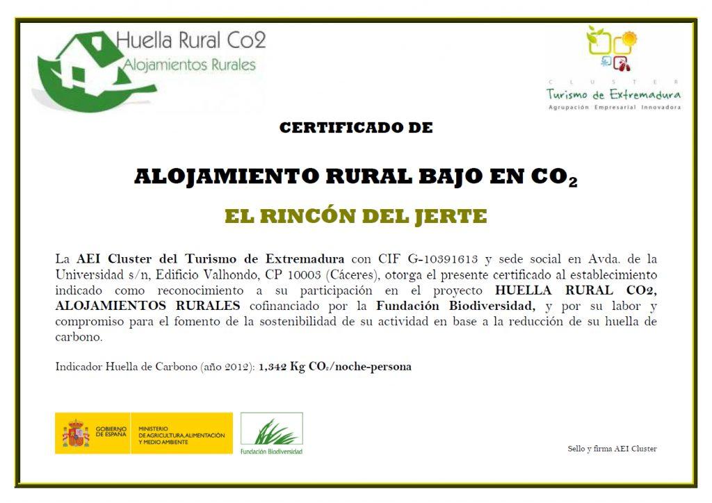 Turismo sostenible Valle del Jerte