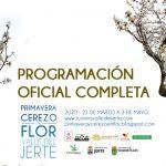 Programación Floración Valle del Jerte 2020